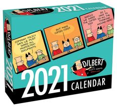 A Dilbert daily calendar to make you laugh out loud. Features full-color cartoon on every page. If you work in anything that resembles an office, chances are you have a boss or coworkers who resemble Dilbert's. A daily calendar that your husband will enjoy on his desk. Makes a great gift for office workers, anyone who works in a cubicle in corporate America, as well those who love the Dilbert comics, are a Dilbert fan #office #humor #funny #calendars #2021 Dilbert Cartoon, Dilbert Comics, Funny Calendars, Desk Calendars, Calendar Pages, 2021 Calendar, Daily Calendar, Lazy Coworker, D Company