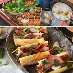 Some of the most typical flavors of Vietnam include lemongrass, ginger, garlic, cilantro, mint, star anise and fiery chilies. Luckily for us, these flavorful ingredients are readily available in most supermarkets. We'd like to encourage you to try your hand at a few Vietnamese-inspired recipes using DI LUSSO® deli meats.
