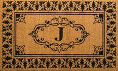 NuLOOM Letter J Doormat Rug Letter J