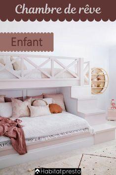 Kids Bedroom Designs, Bunk Bed Designs, Cute Bedroom Ideas, Room Ideas Bedroom, Bedroom Decor, Modern Kids Bedroom, Bedroom For Kids, Modern Teen Room, Cool Room Designs