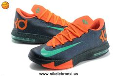 big sale 761d1 80aca Latest Listing Nike Zoom KD 6 Navy orange 599424 500 Womens Your Best Choice