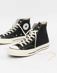 ed1f83f0c78e Converse Chuck Taylor All Star  70 Hi Sneakers In Black 162050C
