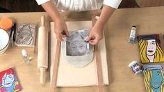 Pop Art Clay Portraits - Lesson Plan