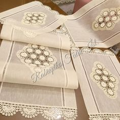 dantel & team& Lace is knitted for different purposes, but our designs are used in a completely different places with quality and elega. Crochet Cushions, Crochet Motif, Dresser Sets, Stylish Mens Fashion, Simple Shirts, Bargello, Wedding Season, Handicraft, Diy And Crafts
