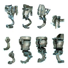 Hiccup's new peg leg design variations. #httyd2 #hiccup