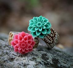 The Antlered Doe-Dahlia Ring I want this ring!! It is so cute!