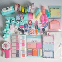 Cosas lindas para poner las notitas del dia a dia ;)