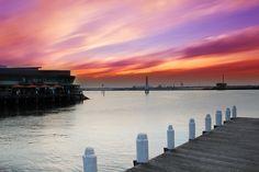 Port Melbourne Sunset  $80