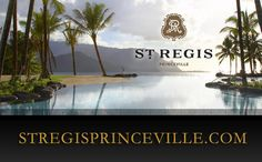 Kauai Luxury Resort - St Regis Princeville - let me VIP you #luxury #travel #vip www.lushlife.ca