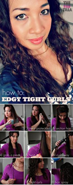 Review and Hair Tutorial (How to Get Edgy Tight Curls) Feat. Bibasque #bibasque #beyonce #hairstyle