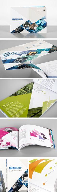 EUREKA 30th Anniversary annual report design by Research Media in 2014. EUREKA…