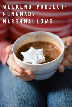 Weekend Project: Homemade Marshmallows | How-To Recipe