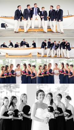 Wentworth by the Sea Wedding - photos by Kate McElwee
