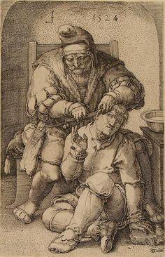 The Surgeon Lucas van Leyden (Netherlandish, Leiden ca. Landsknecht, Albrecht Durer, Medical History, Classic Image, Renaissance Art, Rembrandt, Heritage Image, Poster Size Prints, Vintage World Maps