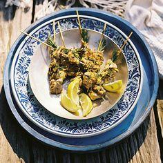 Recept - Kip-citroen-rozemarijnspiesen - Allerhande