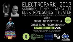 Electropark 2013 - Day 2 with Bugge Wesseltoft & Christian Prommer at Teatro Della Tosse