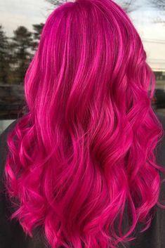 24 Amazing Magenta Hair Color Ideas