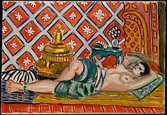 Reclining Odalisque Henri Matisse (French, Le Cateau-Cambrésis 1869–1954 Nice) Date: 1926