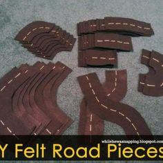 Felt Road DIY {Toys}