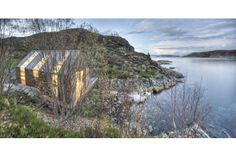 Norwegian Summer Boathouse. Naust Paa Aure by TYIN tegnestue