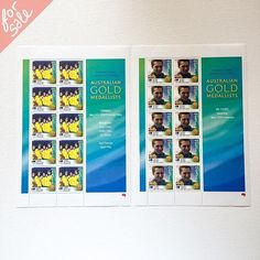 "#Mint ""Sydney 2000 #Olympic Games, #Australian #Gold Medallists"" #postage #stamps. $10 including U.S. shipping  Includes Ian Thorpe and the Men's 4x100m #freestyle relay team. #swimming  #yardsale #garagesale #forsale"