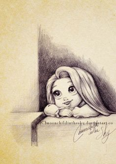 1 #Disney #tangled #Rapunzel - SweetPea always laughs so hard at this part.