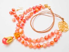 Set ''Candy flowers'' Candy Flowers, Handmade Beads, As You Like, Beaded Jewelry, Hoop Earrings, Pearl Jewelry, Bead Jewelry, Earrings