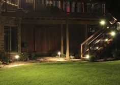 landscape lighting Security Lighting, Landscape Lighting, Sidewalk, Home, Design, Side Walkway, Ad Home, Walkway