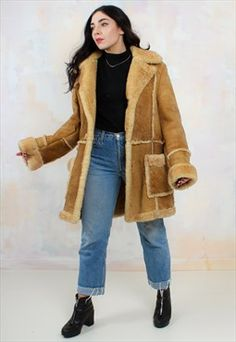 Women's Forest Vienna Shearling Sheepskin Coat | 00 EBay Folder ...