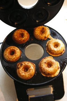 chocolate chip donut recipe to try in my new donut maker