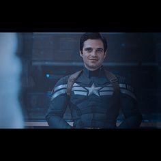 Jenilla (@xjenillax) Bucky as Captain America #buckybarnes #sebastianstan #Marvel Winter Soldier
