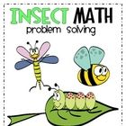 Cut out the insect word problems and glue them in your booklet.  Then read each word problem carefully.  Draw a picture and write a number senten...