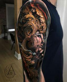 Cool Arm Tattoos, Word Tattoos, Amazing Tattoos, Arlo Dicristina, Arms, Instagram, Studios, Incredible Tattoos, Studio