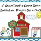 What a fun and engaging way to practice the spelling and phonics patterns from Reading Street Basal Series Unit 4! This pack includes 8 games that ...