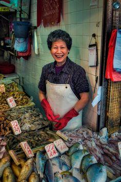 Fish market, Causeway Bay, HK