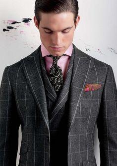 ツイードスーツの着こなし・コーデ 1/6 | メンズファッションスナップ フリーク - 男の着こなし術は見て学べ。