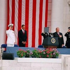 Someone tell me why he's president of this country! No hand over heart, no salute, no nothing Obama