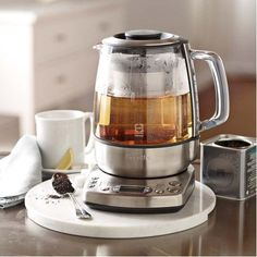 Forget fancy cappuccino machines, I'll take this tea kettle.