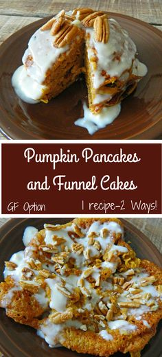 Pumpkin Pancakes and