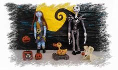 Check out this item in my Etsy shop https://www.etsy.com/listing/221067405/nightmare-before-christmas-minuature-art