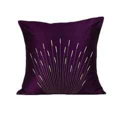 'Branches' Purple 20x20-inch Decorative Pillow $54.99 / 1