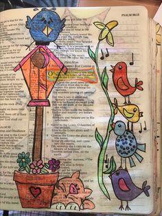 Biblical Quotes, Scripture Quotes, Bible Art, Bible Scriptures, Prayer Journals, Bible Journal, Psalm 106, Psalms, Doodling Art