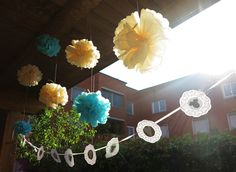Baby Shower hanging decoration with @giralamodalab