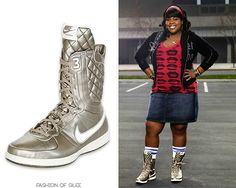 Nike Legend S/S High Sneakers - $97.00 Worn with: Urban Outfitters tee Also worn in: 1x02 'Showmance', 1x03 'Acafellas', 1x06 'Vitamin D', 1x07 'Throwdown', 1x08 'Mash-Up', 1x09 'Wheels', 1x11 'Hairography', 1x13 'Sectionals', 1x21 'Funk'