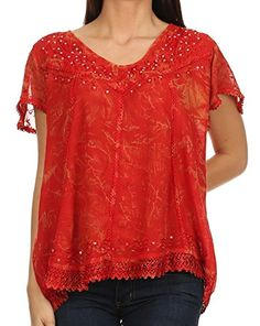 Sakkas 15774 - Hope Embroidery And Seqiun Accents Summer - http://freebiefresh.com/sakkas-15774-hope-embroidery-and-review/