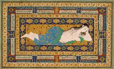 Image of A Young Lady Reclining After a Bath
