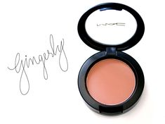 MAC Sheertone Blush in Gingerly ($22) Neat and New to Me Unlike my Unsung Heroes series, which features permanent collection products I've known and loved