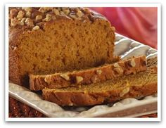 Pumpkin or Banana Nut Bread