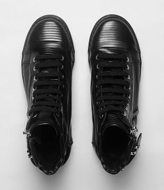 All Saints sneakers.