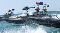 Speedboats of Iran's